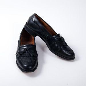 Allen Edmonds Cody Black Tassel Loafers